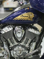 Indian and Victory motorcycles manufactured in Iowa
