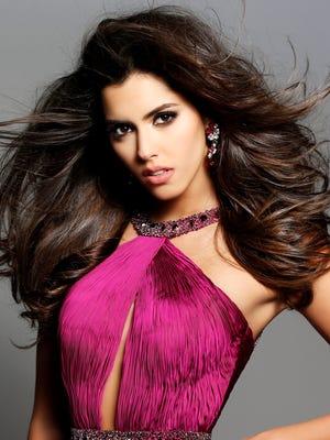 The current Miss Universe, Paulina Vega.