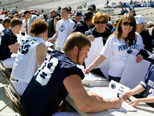 Dallastown's Ben Kline expects to be a top leaders for coach James Franklin this season.