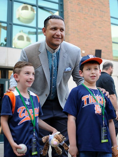 Miguel Cabrera hosts 'Keeping Kids in the Game'
