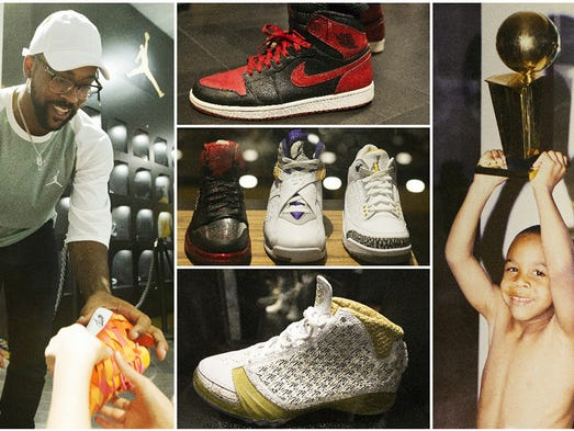 Trophy Room Marcus Jordans Tribute To Father Michael And Family
