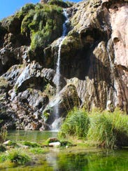 Sitting Bull Falls is among the sights to be seen along