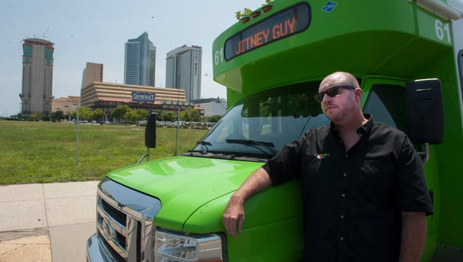 Jitney Guy, Frank Becktel talks about the state of Atlantic City. Tuesday, July 22, 2014.