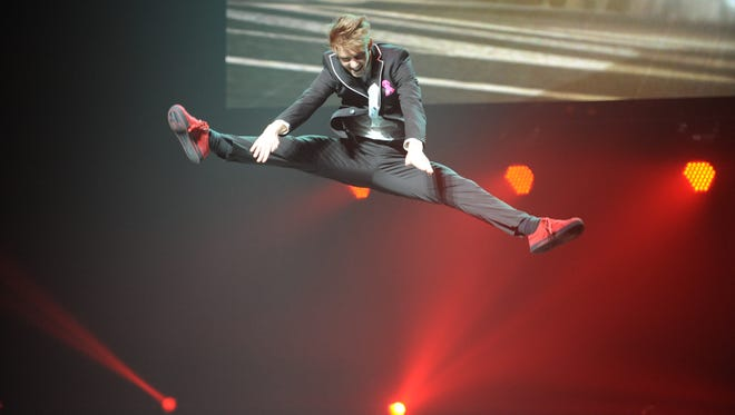 """Nico Greetham performs at The Cobb Energy Centre as part of the """"So You Think You Can Dance"""" 2013 tour in Atlanta on Oct. 25, 2013. The show announced on July 2, 2014, that among the prizes on Season 11 will be a shot at a small role in this fall?s revival of ?On the Town.?"""