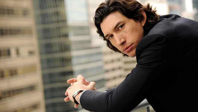 """In this Sept. 6, 2014, photo, actor Adam Driver poses for a portrait at the Shangri-La Hotel during the 2014 Toronto International Film Festival in Toronto. Driver has roles in two films, """"This is Where I Leave You,"""" and """"Tracks,"""" released in theaters this week."""