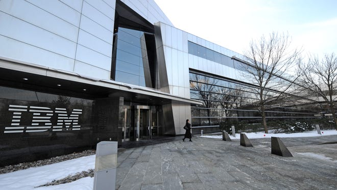 The Armonk headquarters of IBM is seen Jan. 20, 2009.