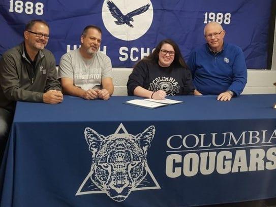 Rachel Doran is headed to Columbia College in Missouri