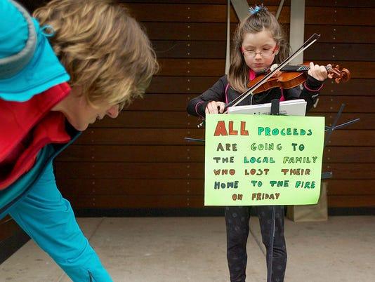 AP Generous Violinist