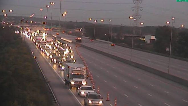 Traffic is being diverted off the highway as police investigate an early morning wrong-way crash in I-275 east at Mosteller Road.