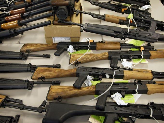 It's important to stay safe around guns. The Arizona