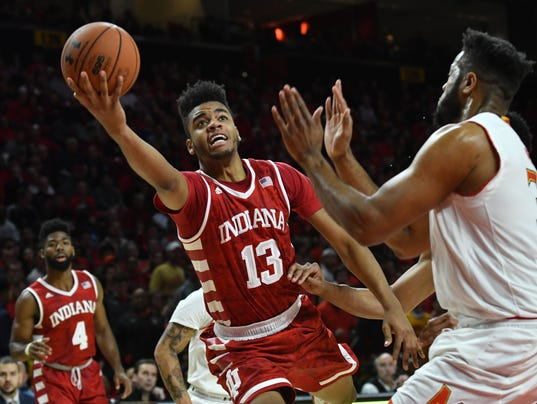 NCAA Basketball: Indiana at Maryland