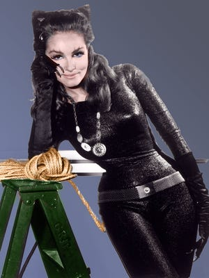 Publicity shot of Julie Newmar as Catwoman.
