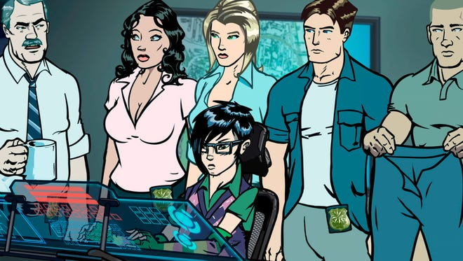 """An unlikely unit of undercover investigators is at work in the new animated series """"Pacific Heat."""""""
