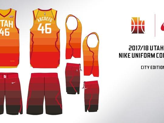 The new Utah Jazz City Edition jerseys