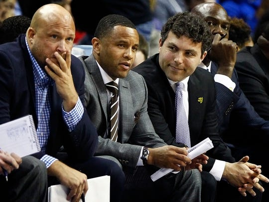 December 18, 2015 -  Memphis head coach Josh Pastner