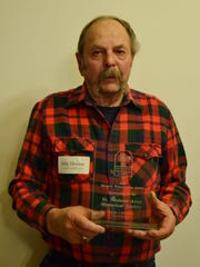 The recipient of the Restoration Award was the St. Nazianz Area Historical Society, represented by President Jerry Dewane.