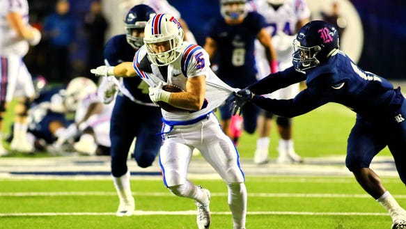 Louisiana Tech receiver Trent Taylor hauled in 99 passes