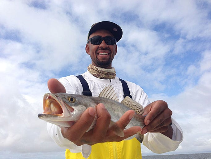 Jared Jeffries is the host of 'Modern Fishing TV.'