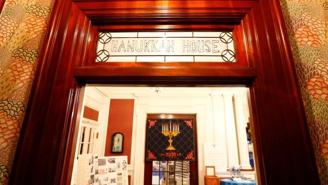 Temple Concord's Hanukkah House Museum in Binghamton on Tuesday, December 5, 2017.