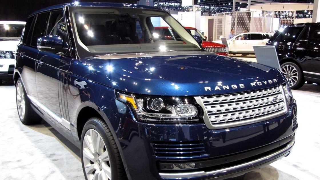 2016 land rover range rover is luxury suv. Black Bedroom Furniture Sets. Home Design Ideas