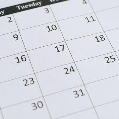 Kewaunee County calendar of events, April 20-May 15