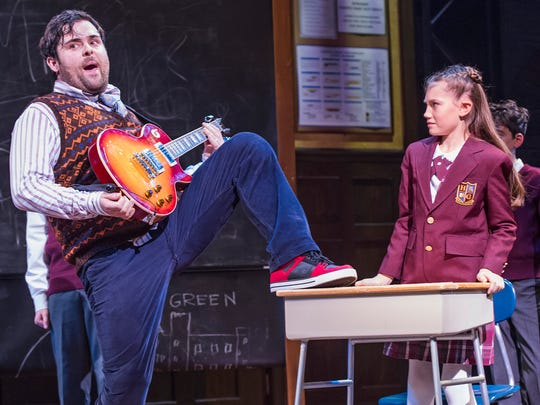 """School of Rock,"" a musical based on the 2003 film,"