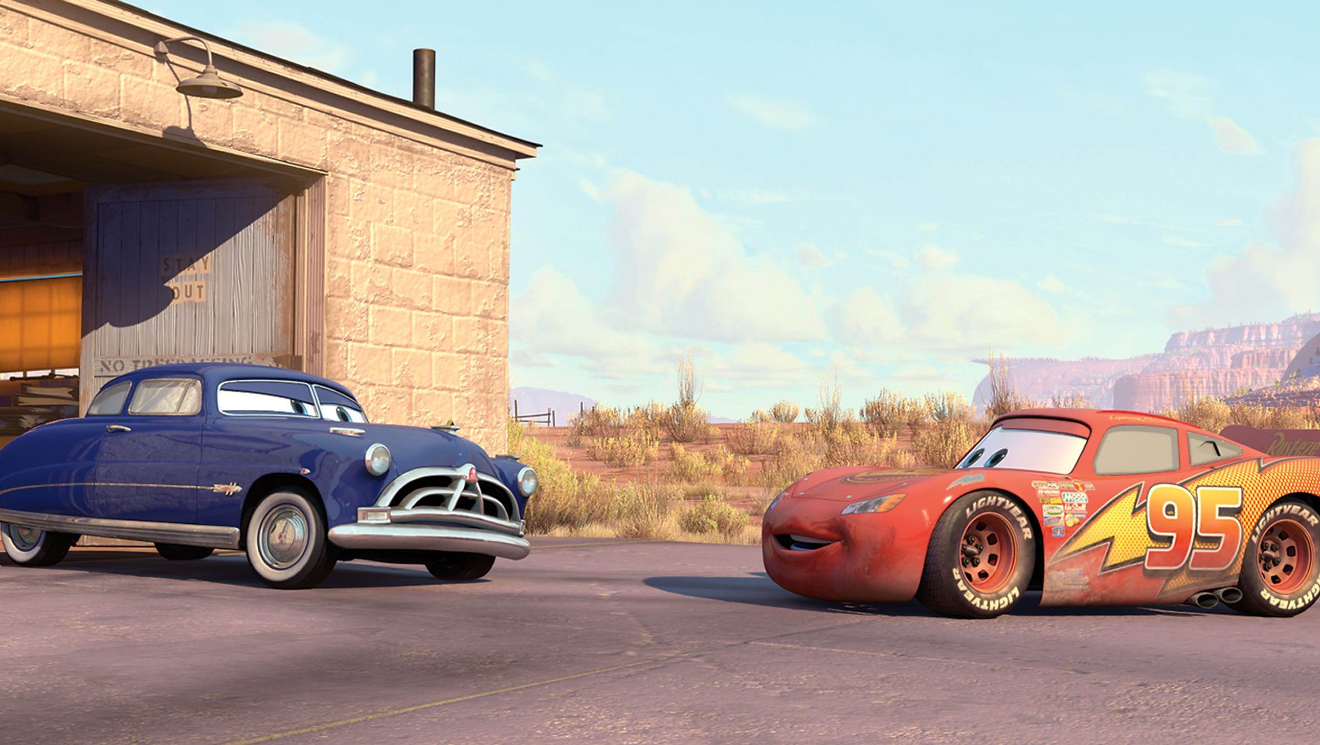 that really is paul newman riding again as doc hudson in cars 3 doc hudson in cars 3