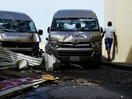 Hurricane Irma caused millions of dollars in damages to vehicles and other property when it passed St. Maarten/St. Martin Wednesday.