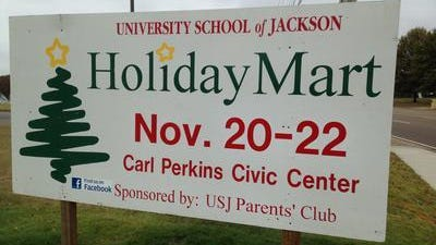 USJ's Holiday Mart will be held Nov. 20-22, at the Carl Perkins Civic Center.