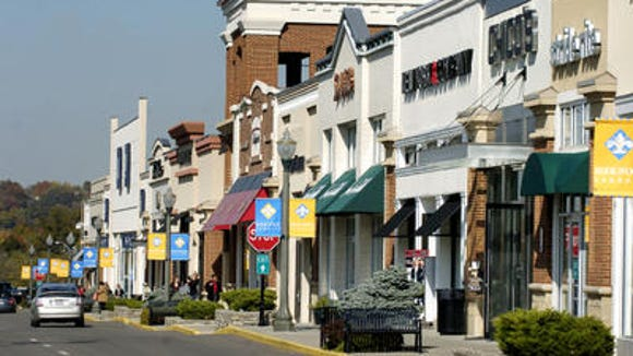 Pictured is Rookwood Commons, home to one of three local Coldwater Creek stores.