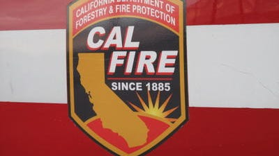 Cal Fire firefighters put out a fire in Desert Hot Springs early Friday.