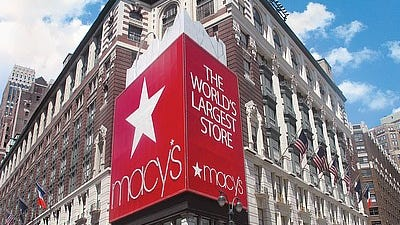Macy's Herald Square flagship store will open for Black Friday sales at 8 p.m. on Thanksgiving.
