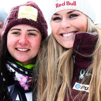 Lindsey Vonn 13th in return; American Jacqueline Wiles is third