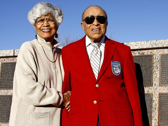 Willeen Williams, 77, and her husband Dr. James B.