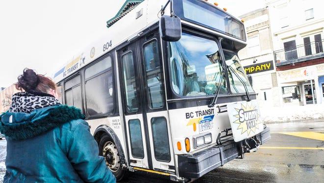 A B.C. Transit bus.
