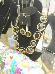 A few of the pieces of jewelry for sale at Gifts and More Galore in Oak Harbor.