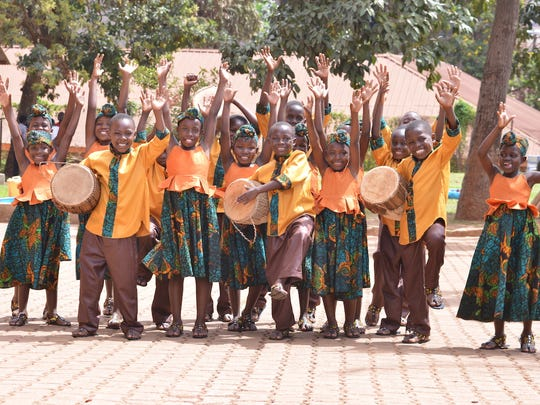 The African Children's Choir has several performances in Mississippi this week.