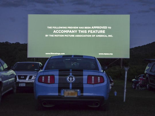 About 600 customers see films at the Unadilla Drive-In
