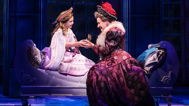 "The musical ""Anastasia"" is based somewhat on truth but mostly on legend."