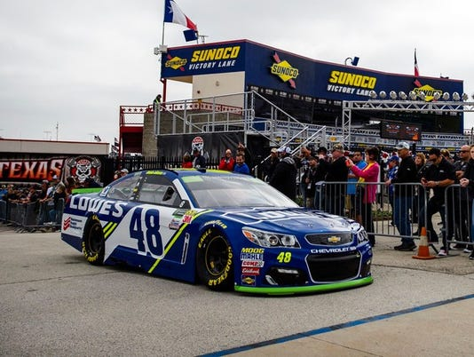 Jimmie Johnson's No. 48 Chevy