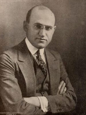 Samuel Goldwyn left Poland and became a glove maker in Germany. He came to America in 1899 and by 1913 he and his brother-in-law, Jesse L. Lasky, Cecil B. DeMille and Arthur Friend started a feature play company.