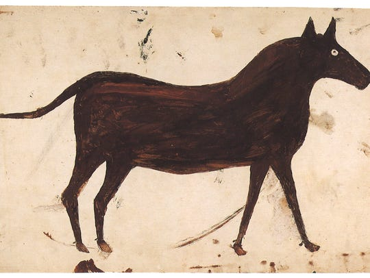 "Bill Traylor's ""Brown Mule"""