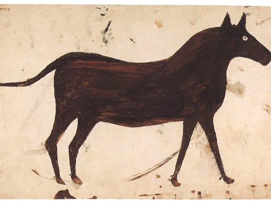 "Bill Traylor's ""Brown Mule"""