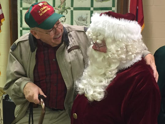Santa heard from kids of all ages at Erin City Hall.