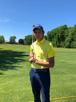A two-sport athlete at Oakmont Regional, recent graduate Jake Berkio will continue to play golf in college as a member of the Franklin Pierce University golf team. He plans on studying finance and buisness administration.
