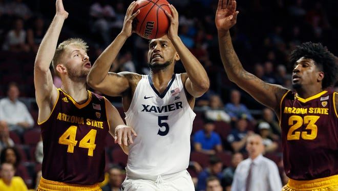 Arizona State defeated Xavier in Las Vegas on  Nov. 24, 2017.