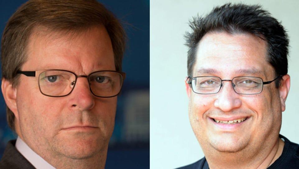 LSU beat writer Glenn Guilbeau and UL beat writer Tim