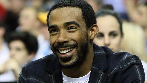 Memphis Grizzlies guard Mike Conley will be highly