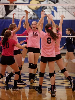 Fort Defiance volleyball was recently recognized both by the AVCA for its team academic award and the Side-Out Foundation for helping raise almost $92,000 for clinical research on stage 4 breast cancer.