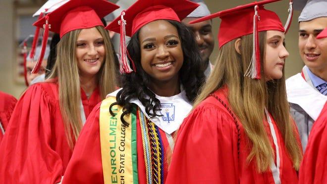 Seminole Ridge High School graduation at The South Florida Fairgrounds, Friday, May 17, 2019.